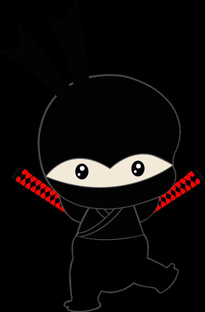 ninja, cartoon ninja, japanese character
